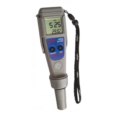 Medidor EC / TDS /Temperatura Adwa Waterproof AD31