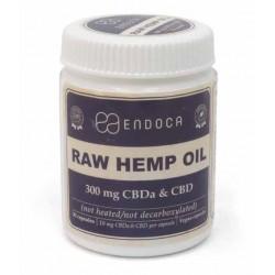 Cápsulas de Aceite de Cáñamo crudo 3% Raw (Endoca)