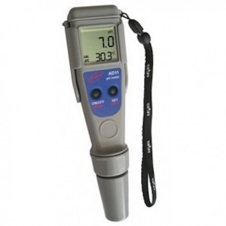 Medidor de pH/ Temperatura Adwa Waterproof AD11