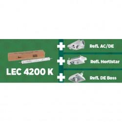 Kit Colossus 630 W LEC 4200K Reflector DE Boss