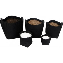 Maceta Tex Pot Negra 7L
